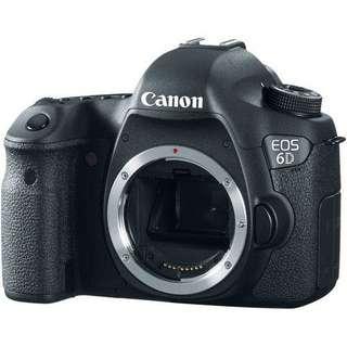 Kredit Canon EOS 6D WIFI Body Only Cicilan tanpa Cc