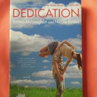 Dedication by Emma McLaughlin & Nicola Kraus