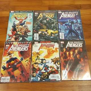 Mighty Avengers 2007-10 complete series