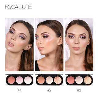 Focallure Blusher And Highliter Pallete (FA26)