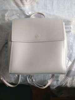 Kate Spade Backpack 米白色皮背包