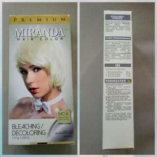 Miranda Hair Color Bleaching ukuran besar
