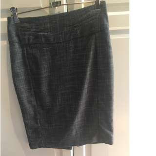 Events Grey Work Corporate Skirt Size 6
