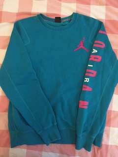 Nike Jordan blue sweat shirt hoodie 衛衣