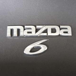 Mazda 6 emblem