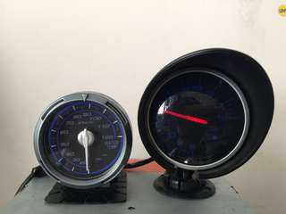 Defi Meter - Volts Meter And Water Temp Meter