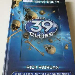 THE 39 CLUES - BOOK 1 THE MAZE OF BONES