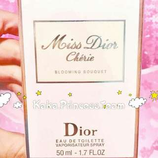 100%全新未開封 CHRISTIAN DIOR MISS DIOR CHERIE 50ML