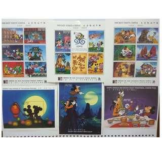 1996馬爾代夫郵票- 米奇遊中國
