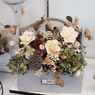 Dried Flower Hand Holder