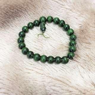 Sparkling Jade like Bracelet