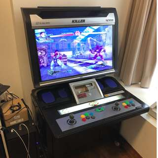Complete working arcade game cabinet