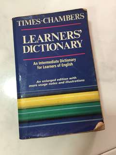 Times Learners' English Dictionary
