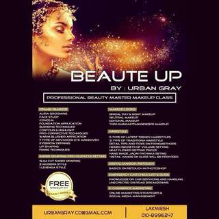 Professional Makeup and Beautician Course