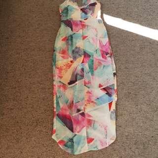 Strapeless dress