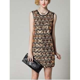 Gatsby Inspired Sleeveless Dress