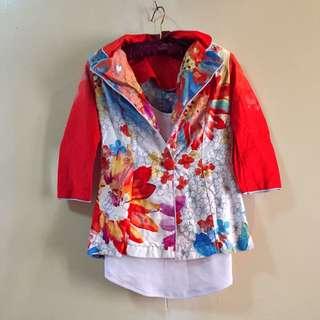 Women's Cherry Blossom blazer
