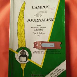 Campus Journalism 4th Edition