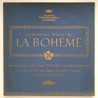Puccini La Boheme Opera Renata Scotto Tito Gobbi Votto DG SLPM 138764/5 2-LP box set