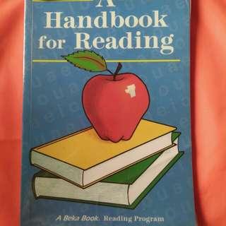 A Handbook for Reading