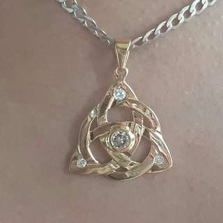 Charmed Diamond Pendant