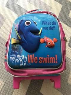 Toddlers Trolley Bag Disney Dory & Nemo