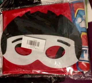 Paw Patrol Costume Cape and Mask for Kids Unisex