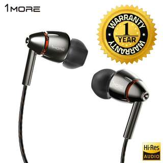 (GOOD FRIDAY WEEKEND PROMO) 1MORE Quad Driver In-Ear Earphone (18 MONTHS WARRANTY)