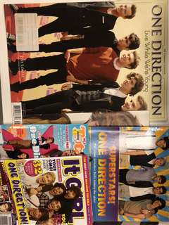 One Direction Live While We Are Young Magazine Superstars Books For Girl