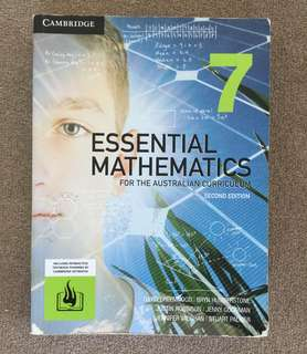 Cambridge essential mathematics 7