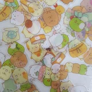 summiko gurashi sticker grabbag!!