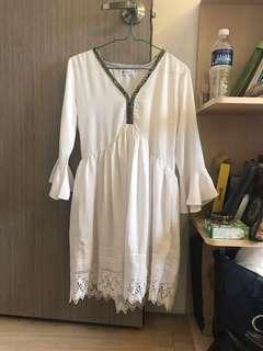 Boho short dress (defect)