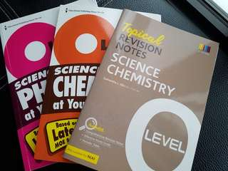 O Level Revision Notes for Physics and Chemistry