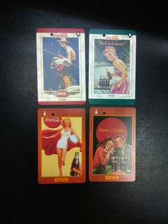 Coca Cola mint transitlink cards