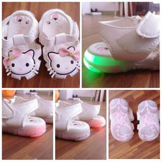 Hello Kitty Light-up Shoes