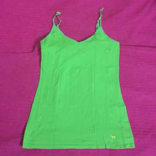 Pink by VS Spag top in Green