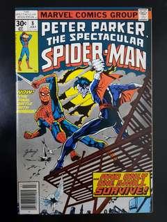 Spectacular Spider-Man (7/77) #8 VFNM / Morbius app.