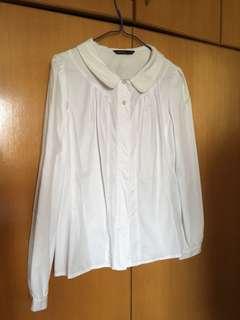 上班服🎀Mastina white shirt