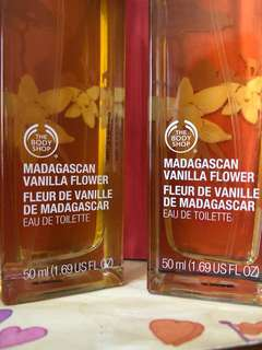 Parfum Body Shop MADAGASCAN VANILLA FLOWER