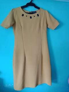 Yellow Juana Dress