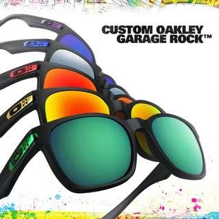 OAKLEY GARAGE ROCK SUNGLASSES - OAKLEY SHADES