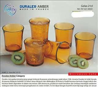 Duralex Amber Gelas 21cl