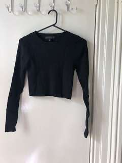 Forever New Knit Rib Crop (size s)