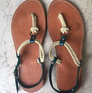 Greek sandals, bought in Athens Greece! Size 8 for narrow feet