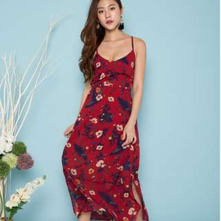 (PO) Charleigh Floral Maxi Dress