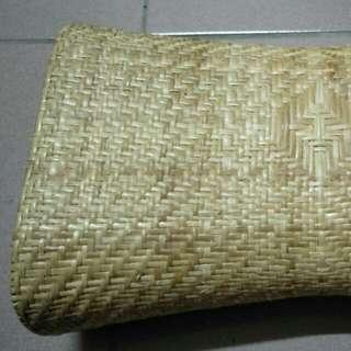 手工藤編枕