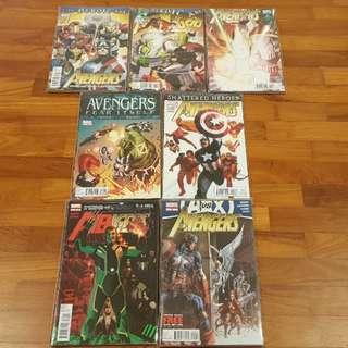 Avengers vol 4 2010-12 complete series