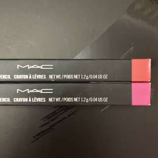 Mac BUNDLE! 2 lip liner