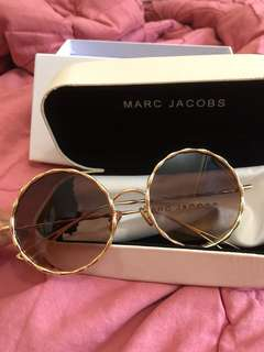 SUNGLASSES MARC JACOBS METAL TWIST ROUND