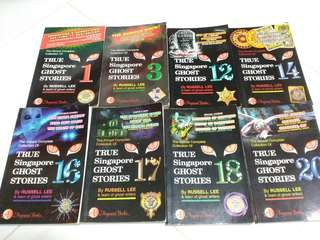 Bundled Preowned True Singapore Ghost Stories